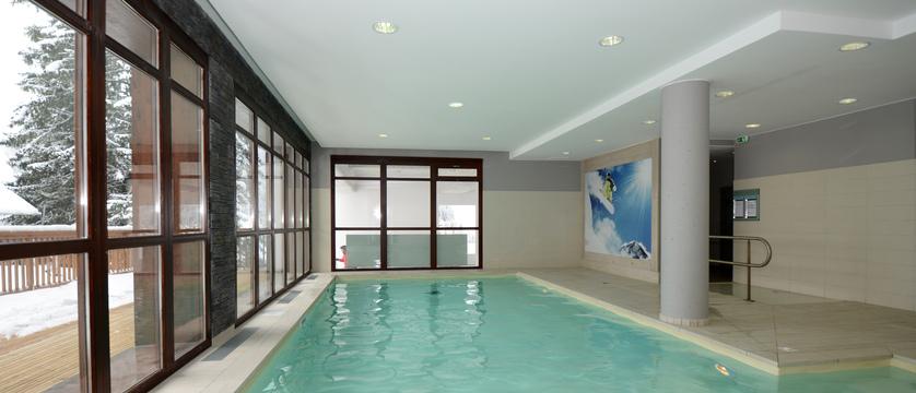 Panoramic apartments indoor pool